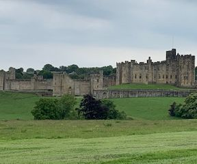 Alnwick Castle and a peak at Harry Potter's England